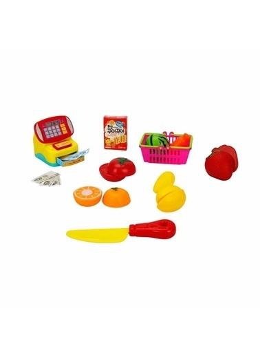 Sunman Sunman 2765 Little Chef Yazar Kasa / Buzdolabı Mini Oyuncak Alışveriş Seti Renkli